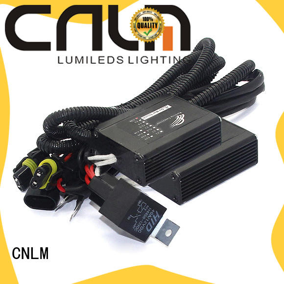 CNLM cheap hid headlight adapters supplier for automobile car