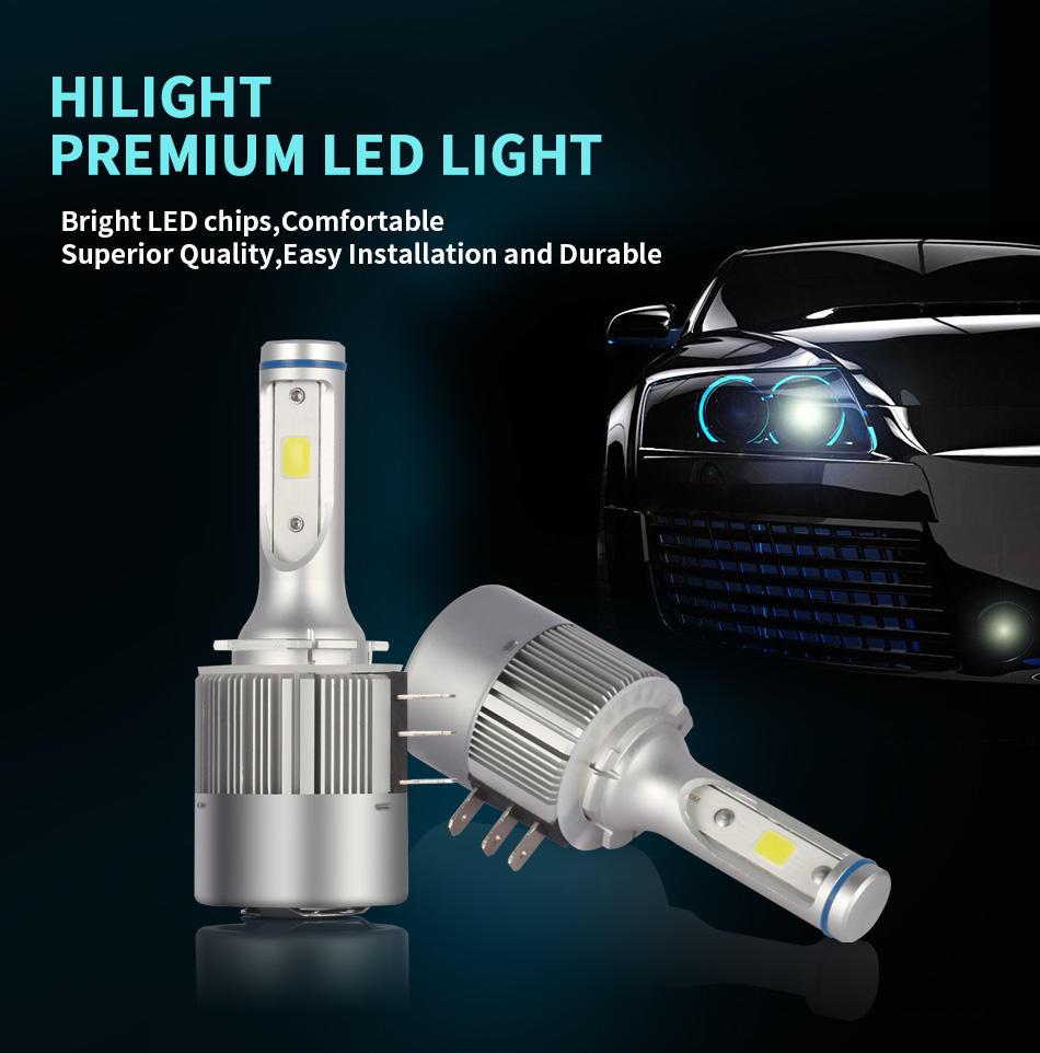 LED Headlight Bulb Kit for Motorcycle H15