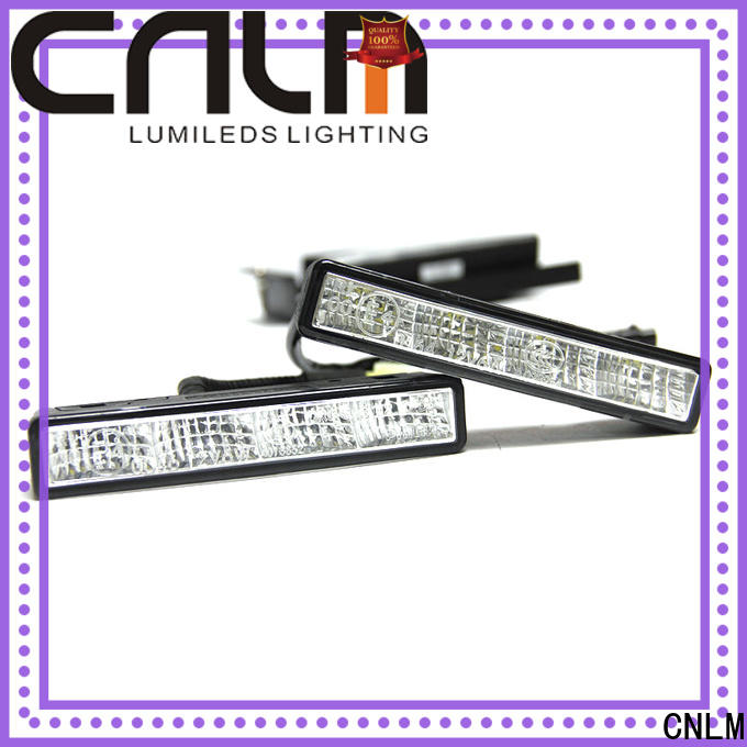 stable led daytime running lights for cars factory direct supply for motorcycle