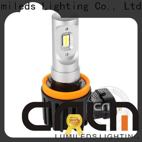 oem brightest h3 led bulb series for car's headlight